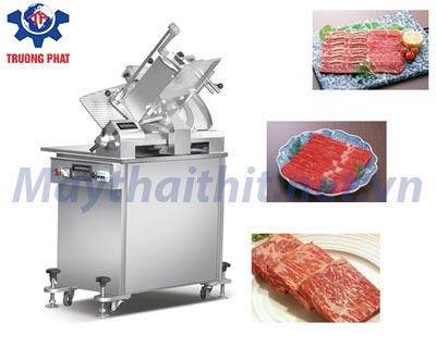 máy thái thịt tươi sống is-350 công suất lớn